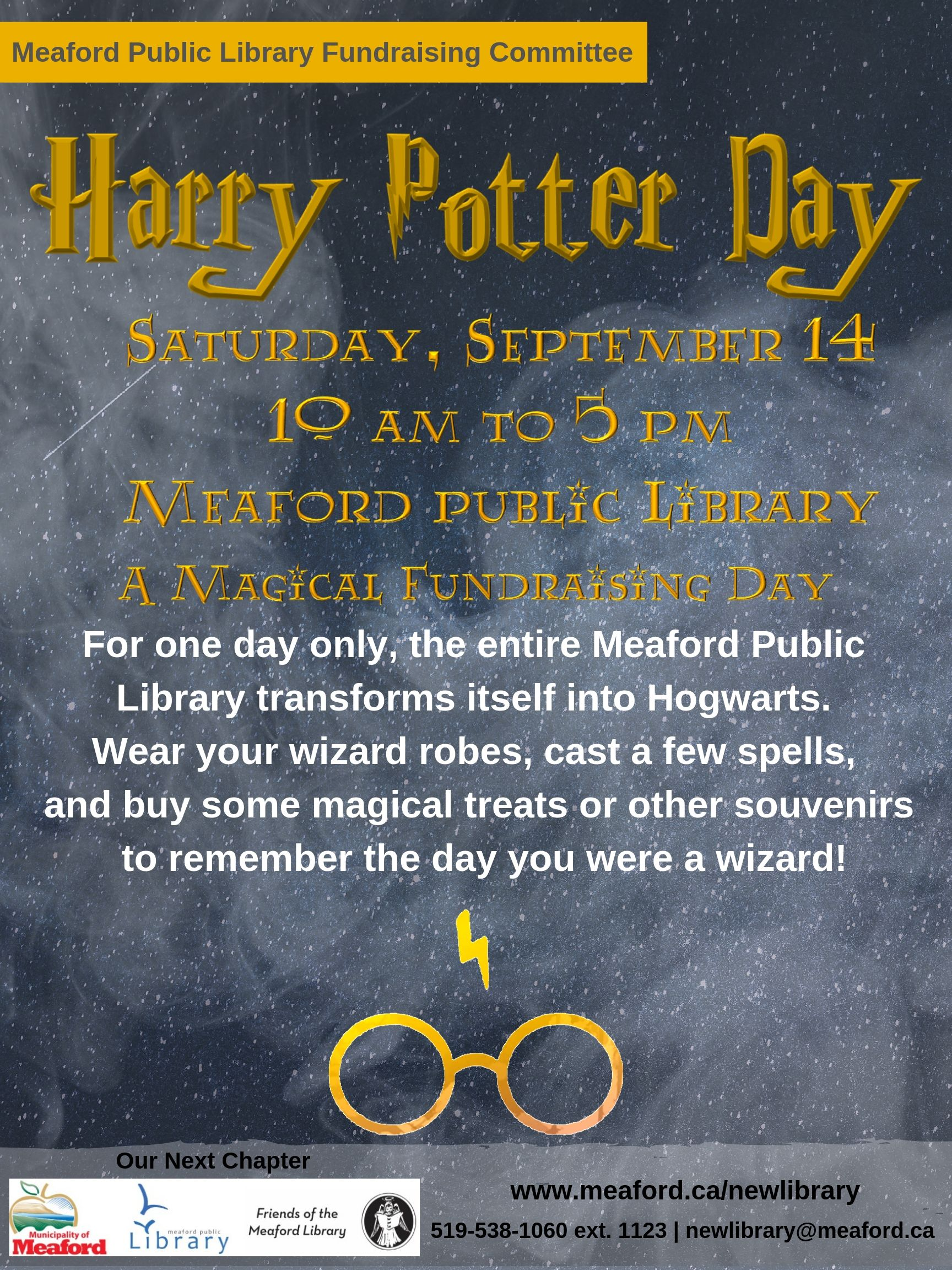 Poster of Harry Potter Day