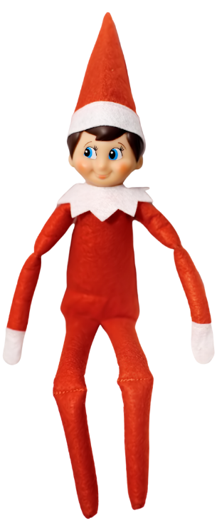 Red Christmas elf
