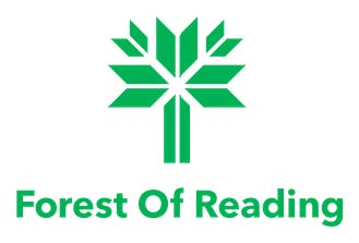image of forest of reading logo a tree symbol