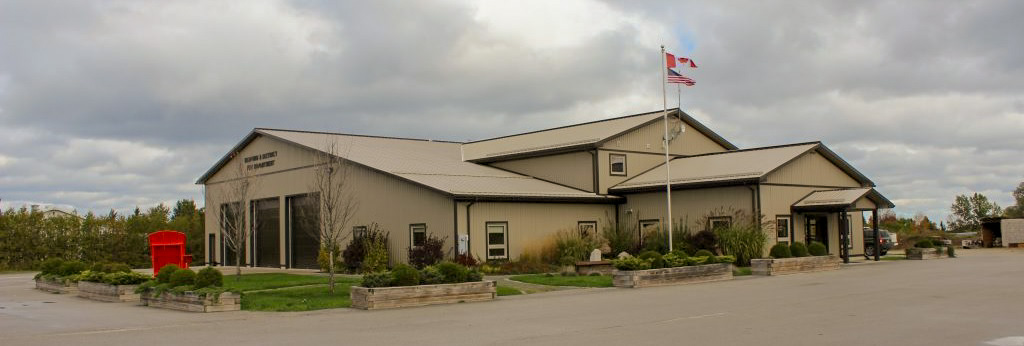 Exterior of the Meaford Fire Department