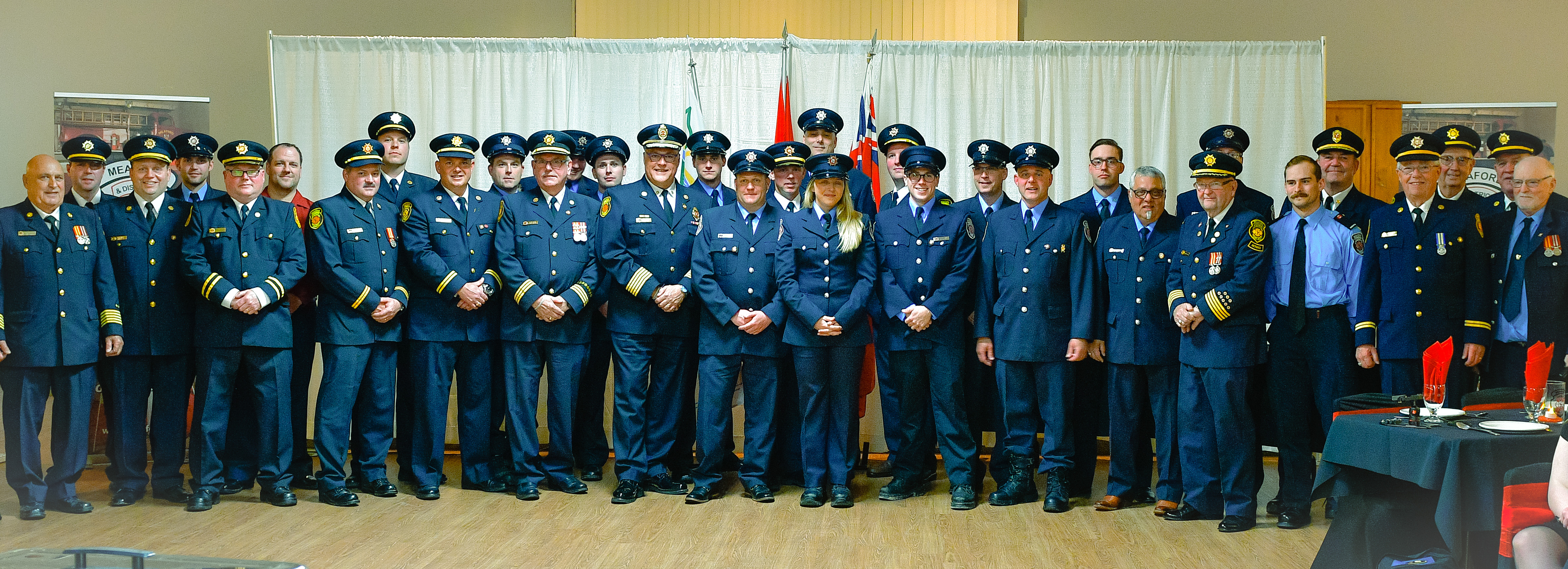 Meaford Firefighters group photo